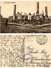 CPA Das zerstorte Wlodawa. POLAND (370771)