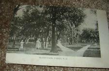 B&W Photo Island Park Fargo North Dakota 1907 Vintage Postcard RPPC Rapid City