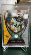2006 Topps Troy Polamalu Pittsburgh Steelers SP Super Bowl XL Ticket Stub card