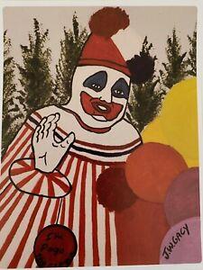 John Wayne Gacy Sticker Pogo the Clown Serial Killer Bundy Ramirez FREE POSTAGE