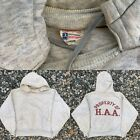 Vintage VTG 50s Champion Running Man Harvard A .A. Double Layer Hoodie Sweater L