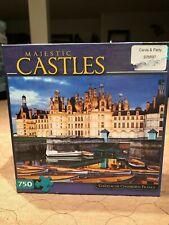 """Buffalo Games """"Chateau De Chambord, France"""" - Majestic Castles 750 Piece Puzzle"""