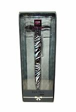 For Her Collection Animal Print Fan Novelty Pen, 6 X 2.5 inches (Zebra) #397450