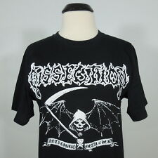 DISSECTION Anti-Cosmic Metal Of Death T-Shirt Black Men's size L (NEW)