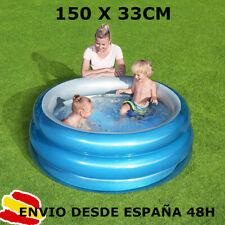 Bestways piscina hinchable para niños x Ø150 x 53 cm altura + parche reparacion