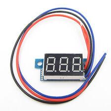 """0.36 """"digital tube Green LED Digital Voltmeter 0-30V Module ASS"""