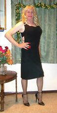 HOT BLACK DRESS  CROSSDRESSER DRAG QUEEN 50703