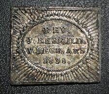 1828 New Monkland, Lanarkshire, Scotland - Communion Token