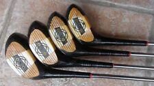 Antique Vintage Kroydon Regal Fancy Face Golf Club Set Patent Pending Great Cond