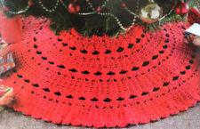 Crochet Pattern • Christmas Tree Skirt • Xmas Trim Decoration • Festive • Noel