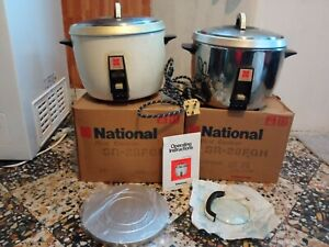 Bundle 2 Vintage National Rice Cookers Catering Size