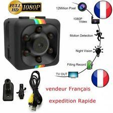 1080P caméra Espion SQ11 Mini Caméra Caméscope HD de Vision Nocturne Mini DV cae