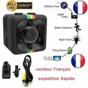 1920x1080P caméra Espion SQ11 Mini  Caméscope HD de Vision Nocturne Mini DV