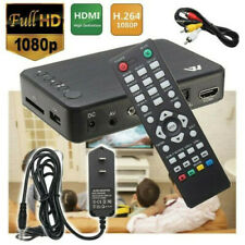 Mini HD 1080P Multi Media Player USB SD MMC MKV AV Port HDMI Video Audio Digital