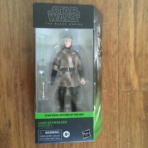 Star Wars Luke Skywalker - Return Of The Jedi - Black Series - Endor