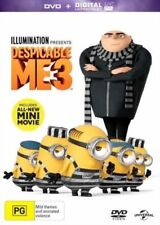 Despicable Me PG Rated Foreign Language Movie DVDs & Blu-ray Discs
