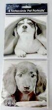 8 in Bianco Biglietti D'auguri Cani Cucciolo PARTY invitare grazie Compleanno Inviti