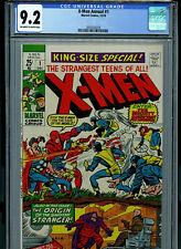 X-Men Annual #1 CGC 9.2 NM- 1970 Marvel Comic Amricons K30