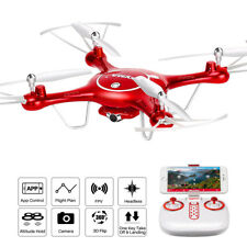 Syma RC Quadcopter X5UW FPV Hover Headless RC Drone With 720p HD WiFi Camera