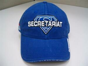 Secretariat Superhorse Hat Cap 100% Cotton Race Horse Racing HTF New