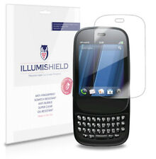 iLLumiShield Phone Screen Protector w Anti-Bubble/Print 3x for HP Veer