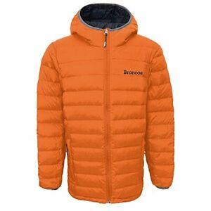 Outerstuff NFL Youth Denver Broncos Solid Packaway Puffer Jacket