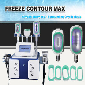 3 handle Cold Freezing Slimming Machine Cooling System Fat Sculpting BodyShaping