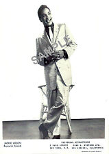 Northern Soul - Rare Jackie Wilson Promotion Photo Reprint