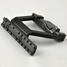 Heavy Duty metal 20mm Rail Base QD Lock Mount For 74U Side Rifle Scope Hunting