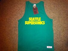 New Seattle Supersonics Tank Top Shirt XXL 2XL Throwback Vintage