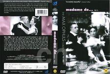 Madame De... (1953) - Charles Boyer, Danielle Darrieux   DVD NEW