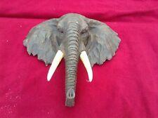 Elephant Bust Head Arts Crafts Elephants Busts Head Bd13156