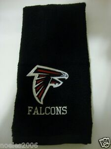 Personalized Embroidered Golf Bowling Workout Towel Atlanta Falcons