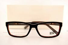 Brand New MONT BLANC Eyeglass Frames 443 001 Black For Men 100% Authentic