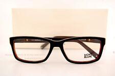 Brand New MONT BLANC Eyeglass Frames 443 001 Black For Men 100% Authentic