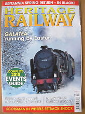 HERITAGE RAILWAY THE COMPLETE STEAM NEWS MAGAZINE ISSUE 133 JANUARY 21 2010