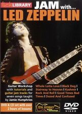 JAM WITH LED ZEPPELIN LICK LIBRARY PLAY ALONG GUITAR DVD & CD NEW