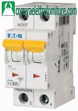 Interruttore magnetotermico 2P 25A 2 moduli 6KA EATON 242882