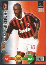PANINI UEFA CHAMPIONS LEAGUE 2009-10 TRADING CARD-AC MILAN-CLARENCE SEEDORF