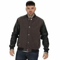 Regatta Cornerhouse Men's  Wool Effect Bomber Fleece Sports Jacket RRP £65