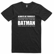 Basic Tee Batman Solid T-Shirts for Men