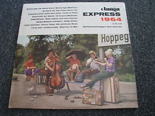 Amiga Express 1964 LP-1965-East Germany-V/A Sampler-Ruth Brandin-Die Amigos