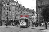 PHOTO  1997 BELGIUM GENT TRAM VELDSTRAAT TRAM NO 16 ON ROUTE NO 10