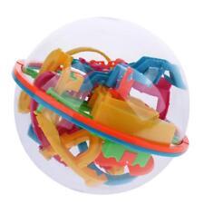 138 Barrières 3D Labyrinthe Jouet Balle Cube Puzzle Pour Enfants Adultes