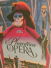 """""""PHANTOM OF THE OPERA"""" LAURENT DURIEUX LIMITED EDN (VARIANT) SCREEN PRINT $150!"""