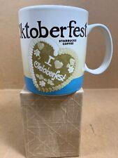 Starbucks Coffee mug OKTOBERFEST Munich München GERMANY 2014 Global Icon Cup SKU