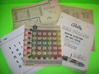 Bally SEA ISLAND 1959 Original Bingo Game Pinball Machine Manual Schematic +