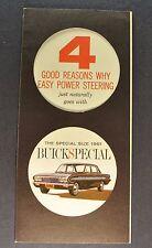 1961 Buick Special Power Steering Brochure Excellent Original 61