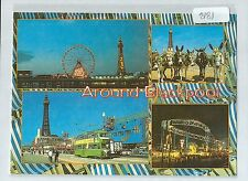 A8181aps UK Around Blackpool Multiview postcard