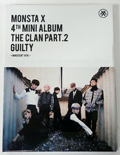 MONSTA X - The Clan 2.5 Part.2 Guilty [INNOCENT ver] +Folded Poster +Tracking no